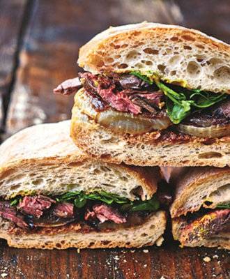 Ultimat Steak Sandwich
